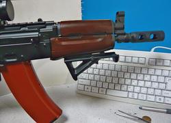 AKS74UとAMD65ハイダー