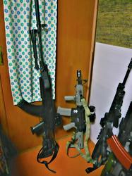 CYMA AK47タクティカルとG&G CM16とマグプルMS3レプリカ