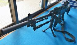 CYMA AK47タクティカルとGPS02タイプグリップバイポッド