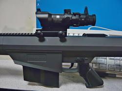 マルイ電動ガンBOYS専用ACOGと中華エアコキバレットM82A1