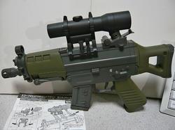 マルイSG550ミニとスコープ型270連射マガジン