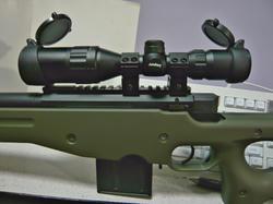 ライフルスコープ3-9x32とマルイL96AWS(OD)
