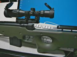 ライフルスコープ3-9x32とマルイL96AWS