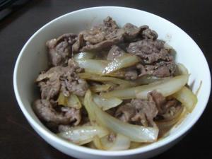 簡単料理レシピ 牛丼風おかず