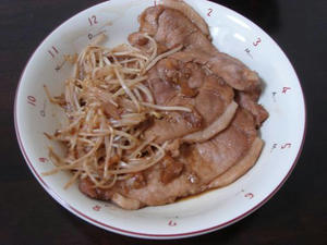 簡単料理レシピ 豚の生姜焼きならぬ、にんにく焼き