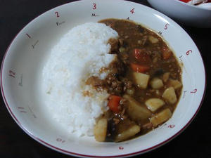 簡単料理レシピのひき肉カレーの作り方