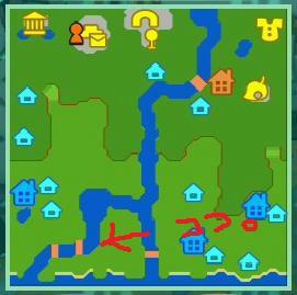 Wiiの街へいこうよどうぶつの森,つみたて金で新しい橋設置