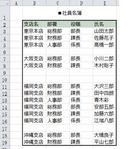 一度に複数の空行を選択し 削除する方法 Excel Sys