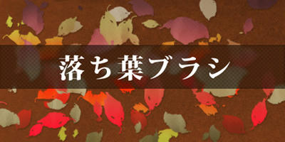 落ち葉ブラシイメージ画像