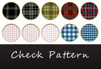 チェックパターン10種