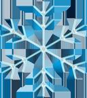 雪の結晶パーツ2