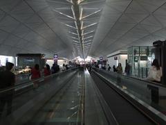とにかく広い(長い!)香港国際空港のターミナル