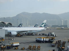 香港国際空港は、キャセイのハブ空港です!