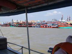 漁業関連の船も、沢山停泊しています