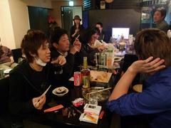 赤坂 Kuro にて打ち上げです!