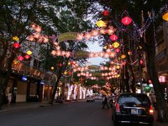 ドンコイ通りの夜の様子…派手です!