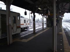 高山駅に到着!
