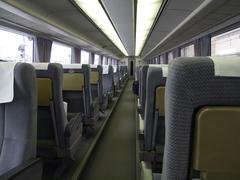 座席部分が、1段高くなっているのがお分かりでしょうか?