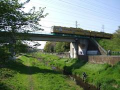 野川を渡る多摩川線