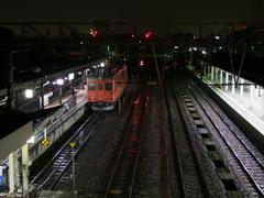 この日の運用を終えたキハ52形…糸魚川駅にて
