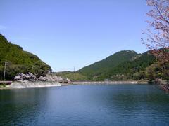 喉かな雰囲気だった河内貯水池
