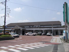 直方駅(こちらはJR側)