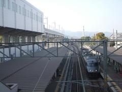 久留米駅は、正に新幹線の受け入れ体制が!