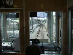 藤沢駅を出て1分、すぐに石下駅に到着です