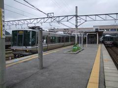 福知山線も、この篠山口駅を境に、ローカル度が濃くなります
