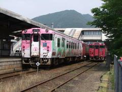 JR播但線の和田山側は、非電化路線です
