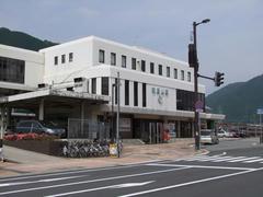 JR播但線の終点でもある、和田山駅
