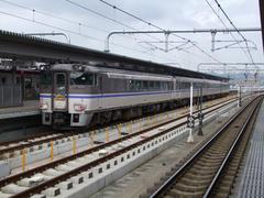 181系『はまかぜ』、さらば!…姫路駅にて