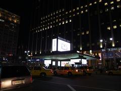 ホテルで休んでから、ペンシルバニア駅を再度見渡します