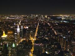 マンハッタンの南側の風景です…頑張れば自由の女神像も見付けられるかも…?