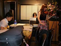 Tsukasa さんは、アイリッシュの曲も織り交ぜて