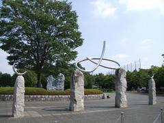 晴天に恵まれた日高総合公園
