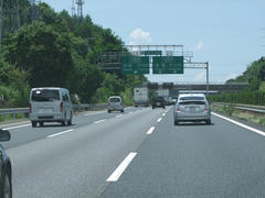高速道路はいたって順調でした