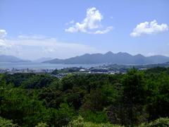 宮島を望みます