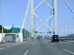 関門海峡を渡り、九州に入ります!