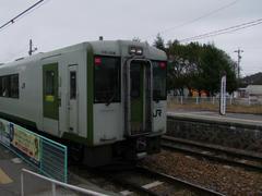 日本一標高の高い、野辺山駅に到着