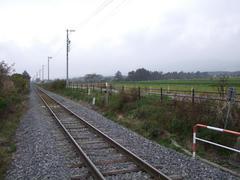 画面奥の先に、JR鉄道最高地点があります…右奥には、天気が良ければ八ヶ岳が…