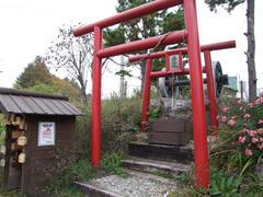 鉄道最高地点神社は、なかなかの人気!?