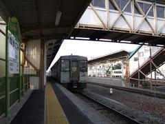 小海線の事実上の中継地、中込駅