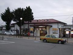 こちらは、なかなか渋い駅舎