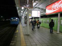 秩父鉄道、寄居駅にて…旧国鉄の駅みたいです