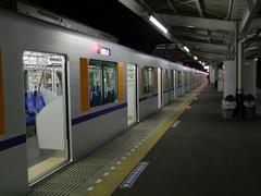東武東上線の小川町駅にて…車内はガラガラ♪