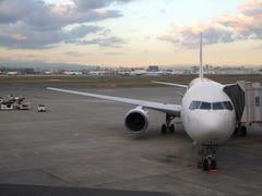 羽田空港は、ご覧の通りの良い天気♪