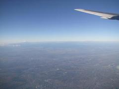 離陸後、富士山も綺麗に見えました!