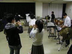 上杉君、吹奏楽部の練習に参加!?