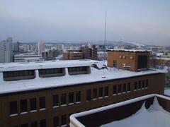 泊まったホテルからの眺め